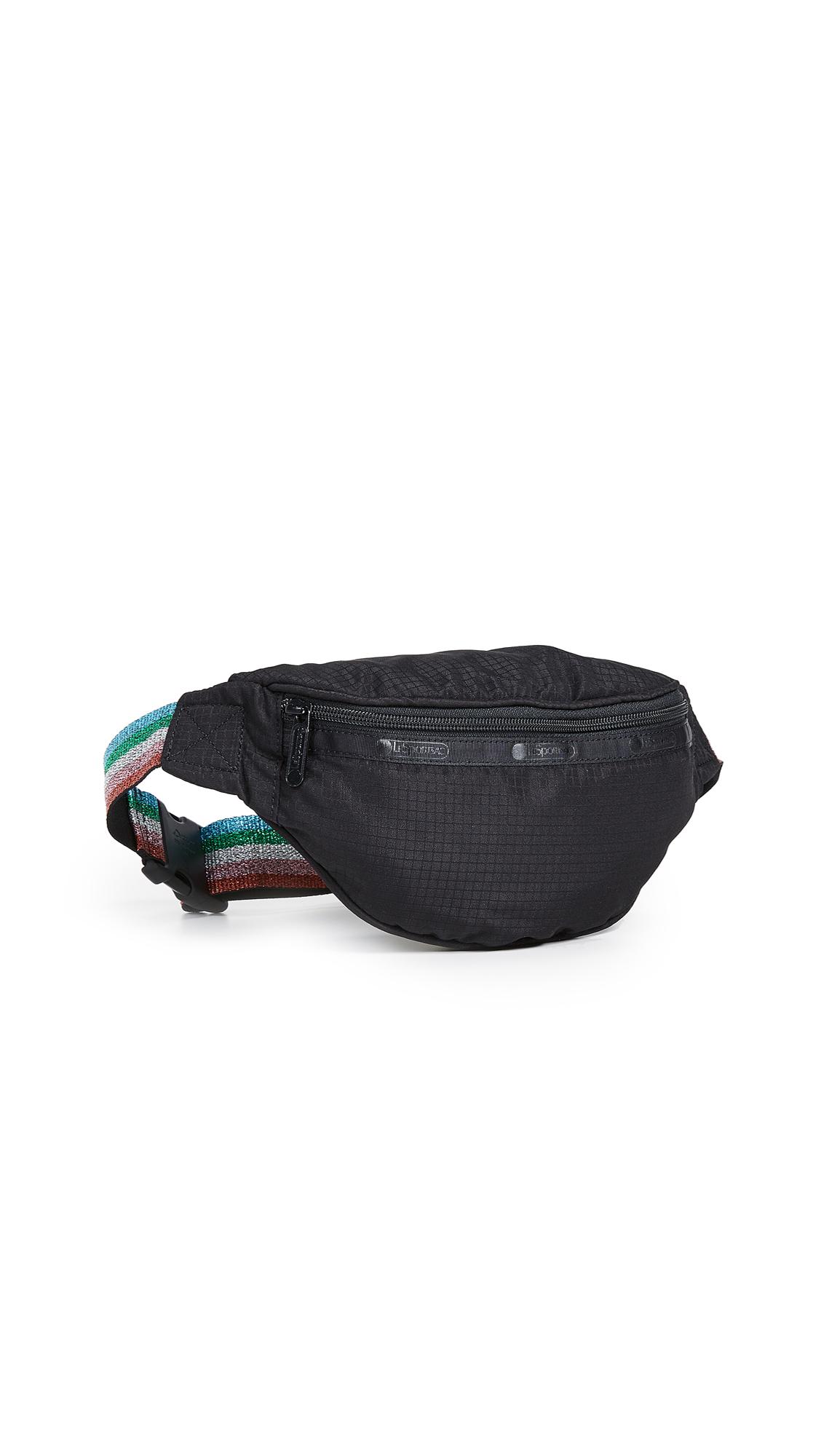 LESPORTSAC Gabrielle Bum Bag in Black