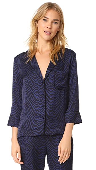 LOVE Stories Jude PJ Top In Tiger Peacoat