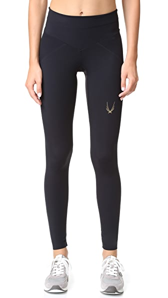 Lucas Hugh Core Performance Leggings - Black