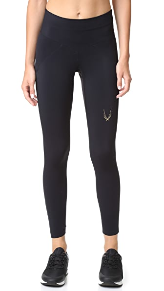 Lucas Hugh Core Performance 7/8 Leggings - Black