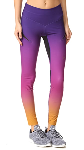 Lucas Hugh Rebel Leggings - Purple Gold