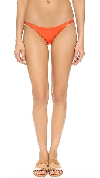 Luli Fama Kiss the Wave Double Braid Bikini Bottoms