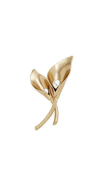 Lulu Frost Jardin Brooch at Shopbop