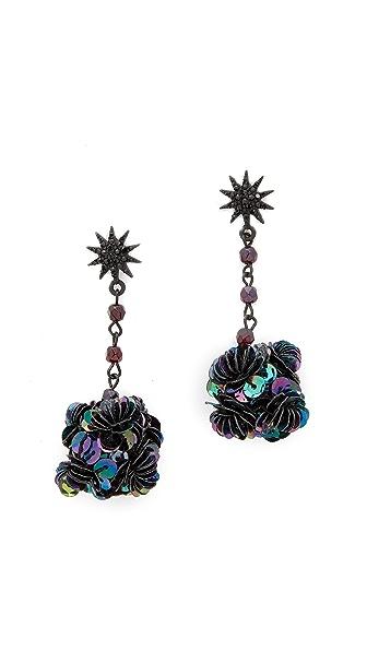 Lulu Frost Rose Earrings