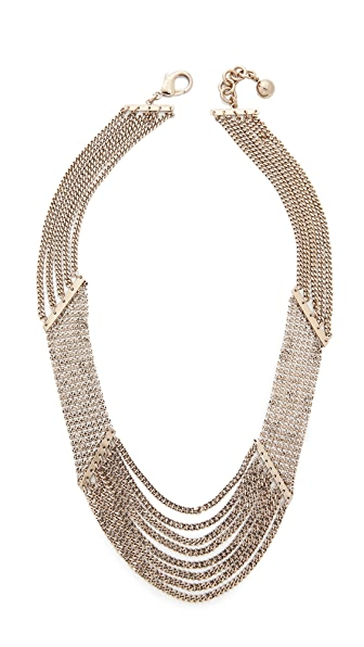 Lulu Frost Claude Draped Necklace In Gold
