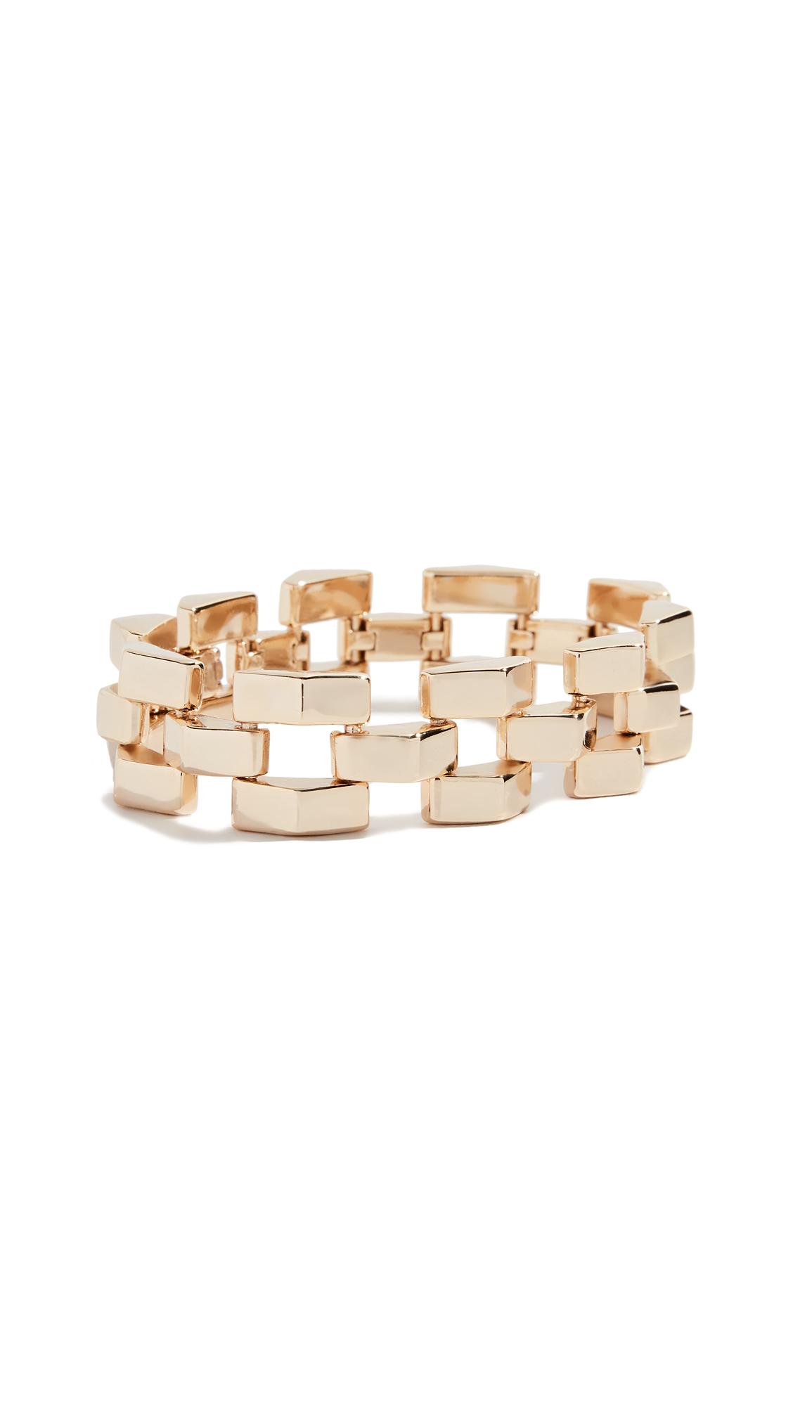 LULU FROST Power Bracelet in Gold
