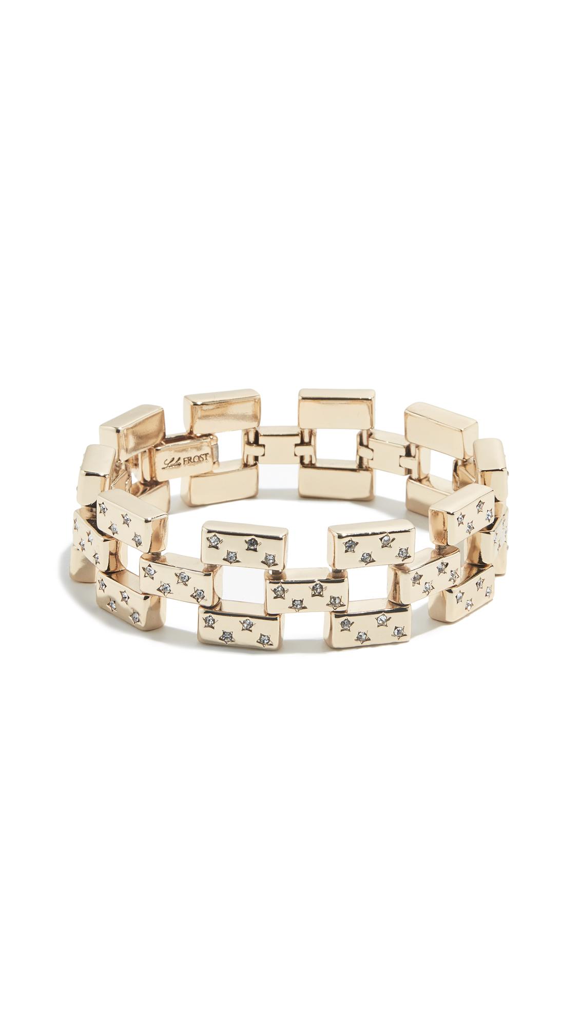 LULU FROST Amp Line Bracelet in Clear