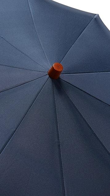 London Undercover Telescopic Umbrella with Maple Handle