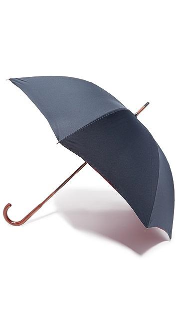 London Undercover Baracuta Contrast Interior Stick Umbrella
