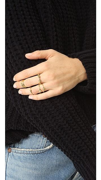 Luv Aj The Baroque Stack Ring Set