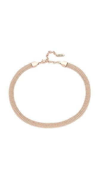 Luv Aj The Disco Choker Necklace