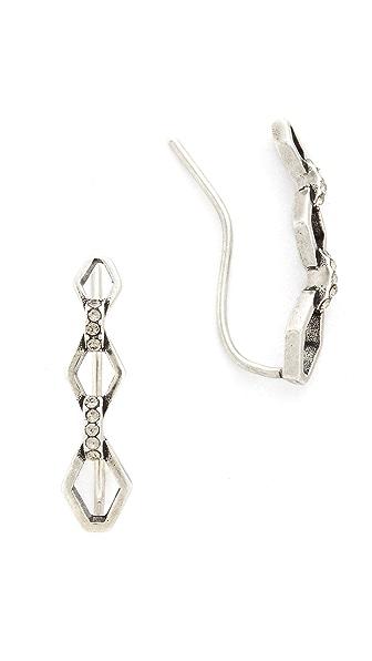 Luv Aj The Chain Link Crawler Earrings