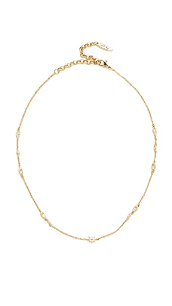 Luv Aj The Revel Starburst Chain Choker Necklace