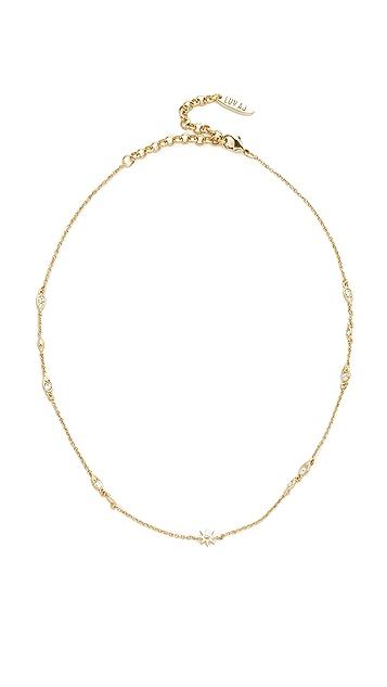 Luv Aj The Revel Starburst Chain Choker Necklace