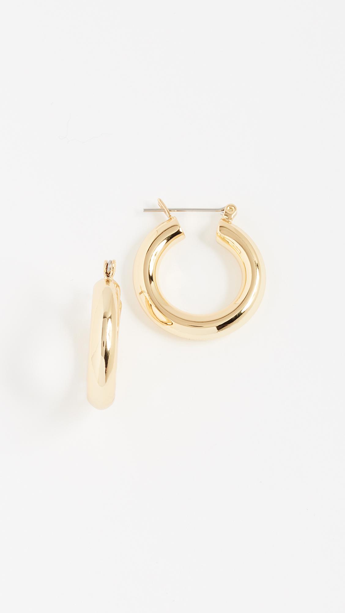 c988529b39315 Baby Amalfi Tube Hoop Earrings