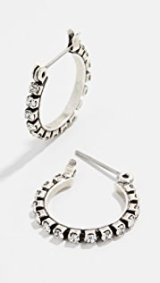Luv Aj Baby Gemma Hoop Earrings