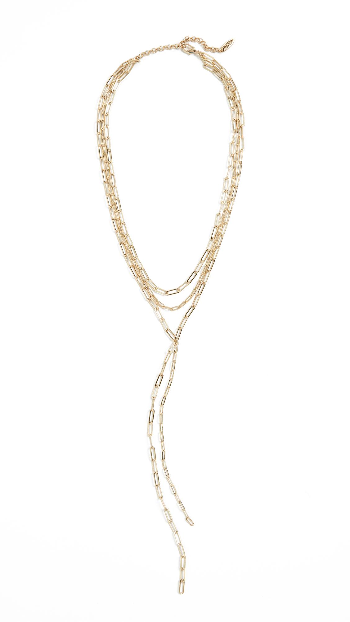 Luv Aj The Maja Lariat Necklace