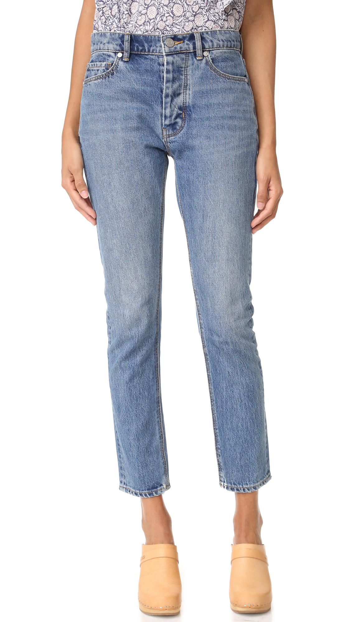 La Vie Rebecca Taylor Beatrice Jeans - Loveworn Wash at Shopbop
