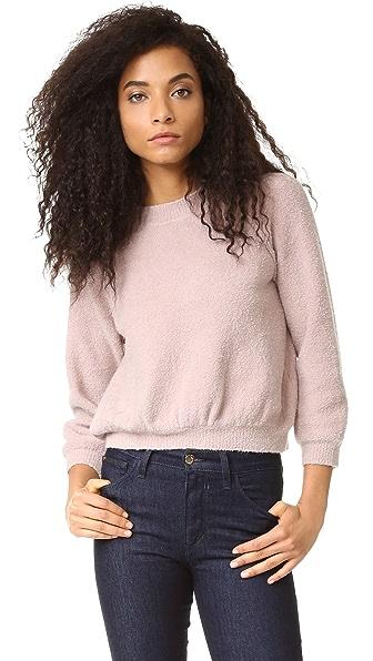 La Vie Rebecca Taylor Эластичный пуловер из букле