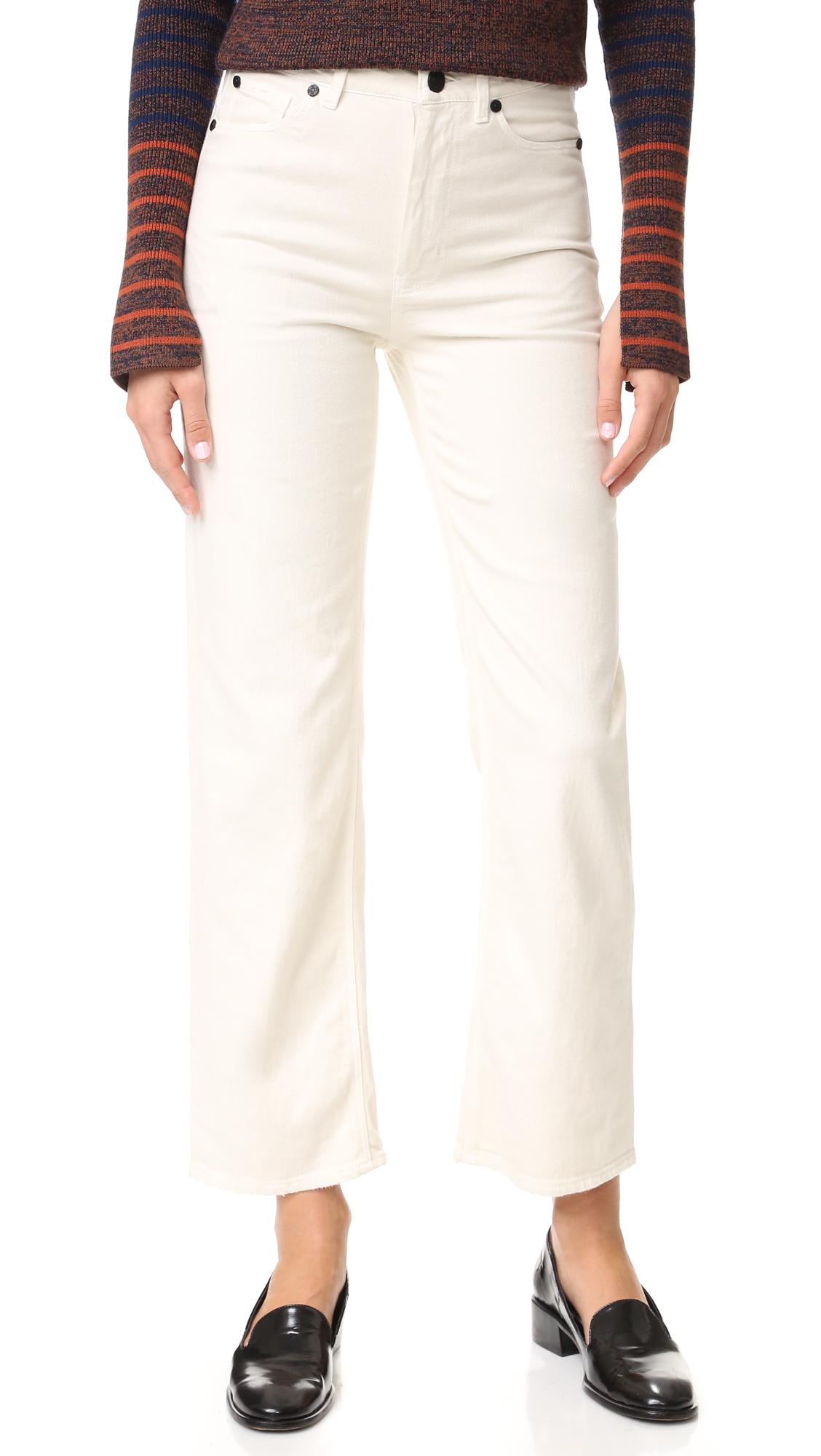 La Vie Rebecca Taylor Amelie Jeans - Ecru at Shopbop