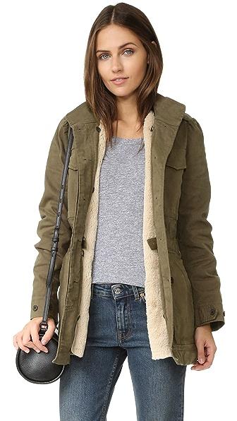 La Vie Rebecca Taylor Luxe Coat - Trooper at Shopbop