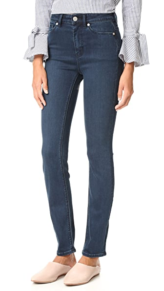 Clemence High Rise Slim Jeans