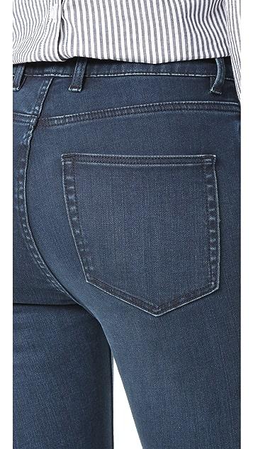 La Vie Rebecca Taylor Clemence High Rise Slim Jeans