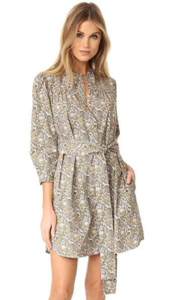 La Vie Rebecca Taylor Long Sleeve Marigold Pop Dress at Shopbop
