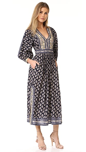 La Vie Rebecca Taylor Long Sleeve Indienne Dress at Shopbop