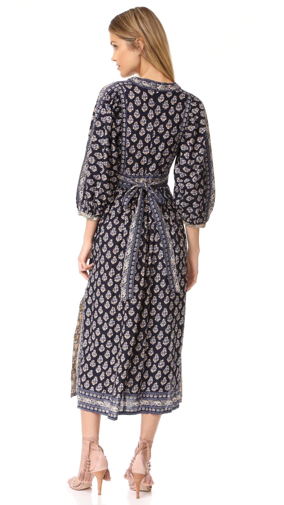 5b1a06399d3 La Vie Rebecca Taylor Long Sleeve Indienne Dress
