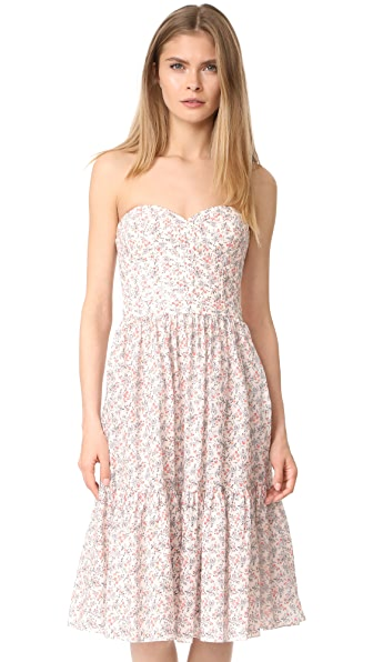 La Vie Rebecca Taylor Provence Dress - Creamsicle Combo