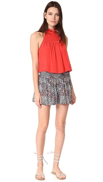 La Vie Rebecca Taylor Wildflowers Shorts