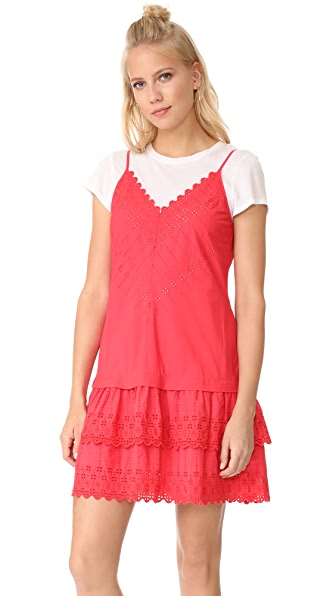 La Vie Rebecca Taylor Sleeveless Alice Eyelet Dress