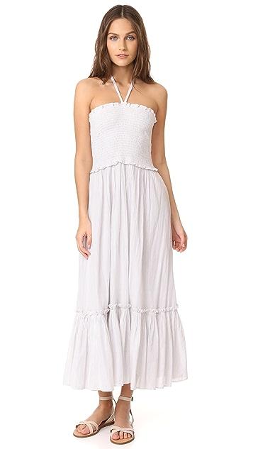 La Vie Rebecca Taylor Lurex Stripe Dress