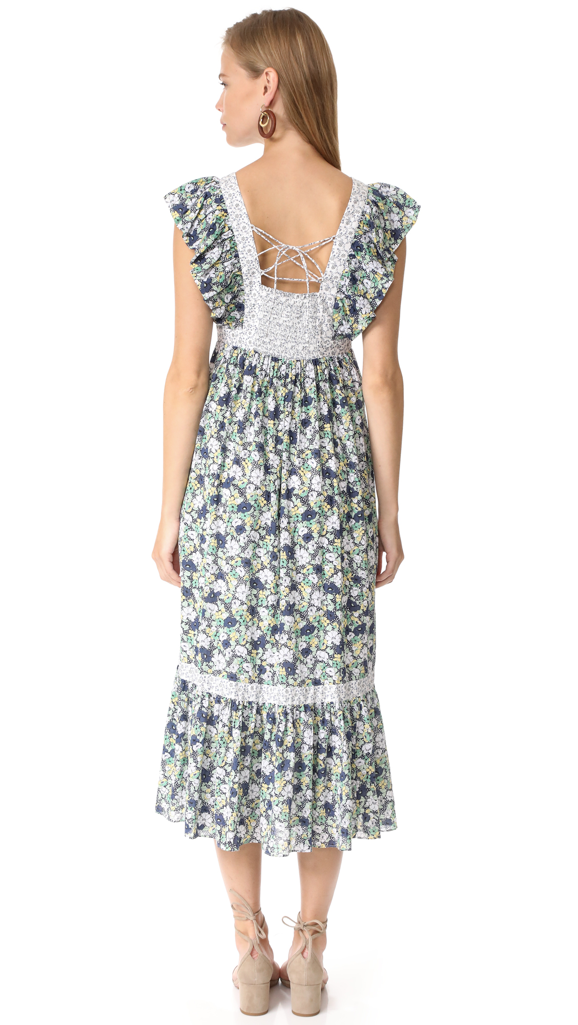 76bcd8ffee8 La Vie Rebecca Taylor Sleeveless Fleur Suzette Dress