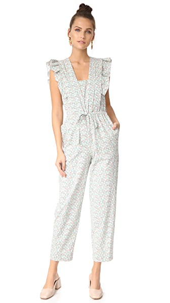 La Vie Rebecca Taylor Adelie Floral Jumpsuit at Shopbop