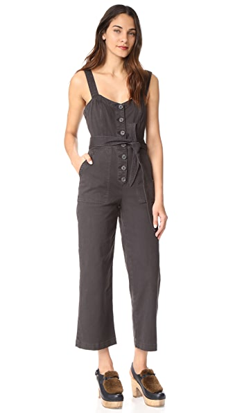 La Vie Rebecca Taylor Garment Dyed Jumpsuit at Shopbop