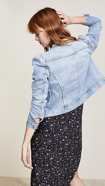 La Vie Rebecca Taylor Star Denim Jacket