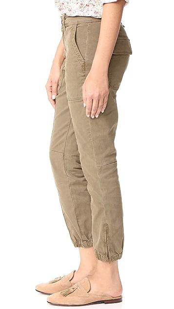 La Vie Rebecca Taylor Straight Twill Pants