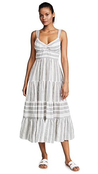 La Vie Rebecca Taylor Gauze Stripe Dress at Shopbop