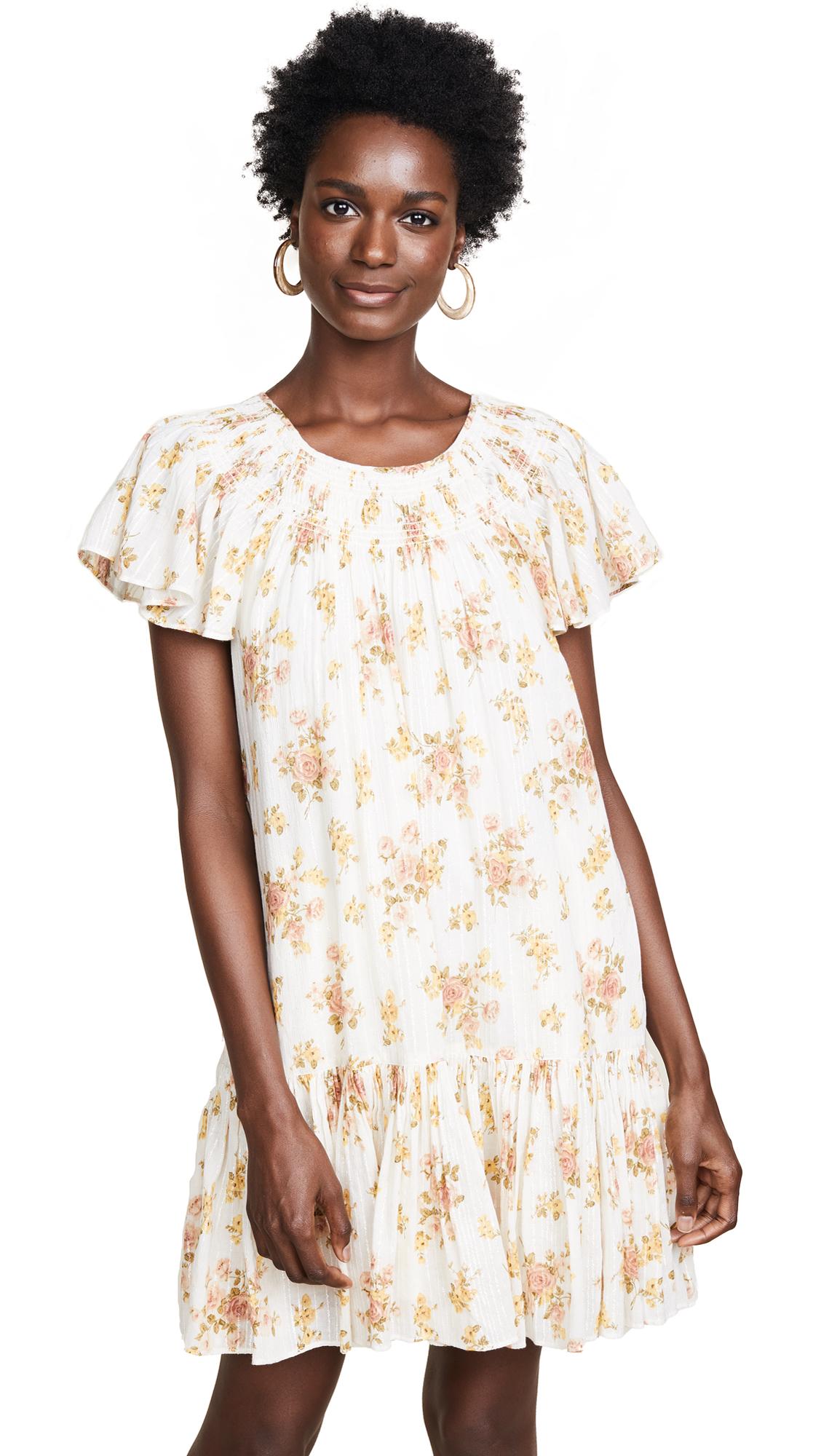La Vie Rebecca Taylor Madeline Dress In Milk