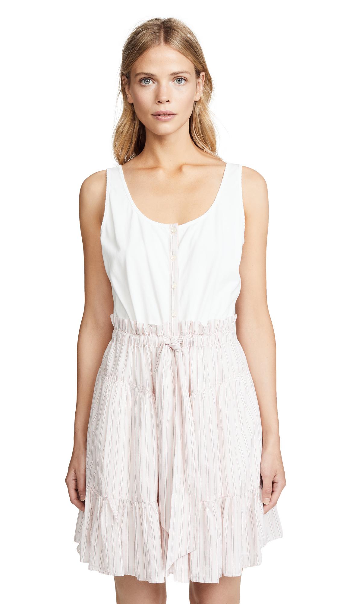 La Vie Rebecca Taylor Stripe Jersey Dress