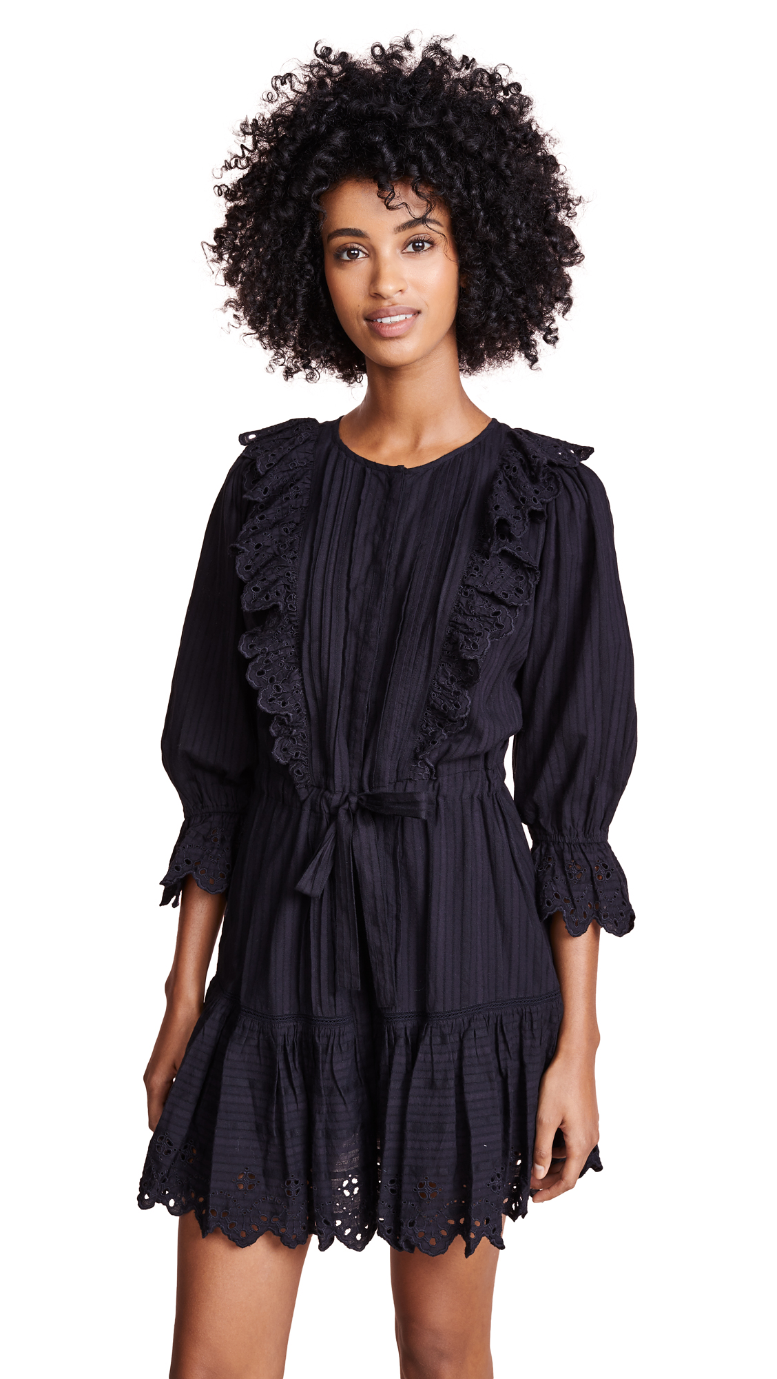 La Vie Rebecca Taylor Satin Stripe Dress