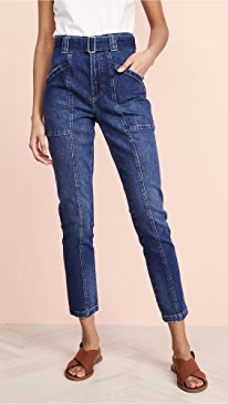 de9443db439 La Vie Rebecca Taylor. Tie Waist Jeans