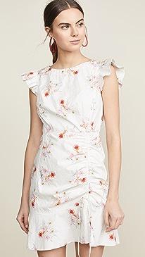 9407359b4a La Vie Rebecca Taylor. Sleeveless Catrine Ruched Dress