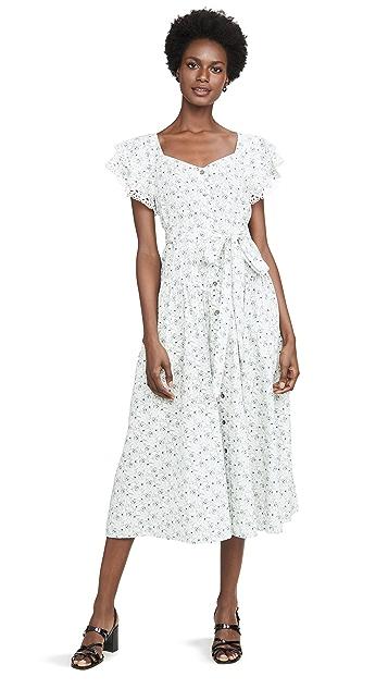 La Vie Rebecca Taylor Poppy Fields Dress