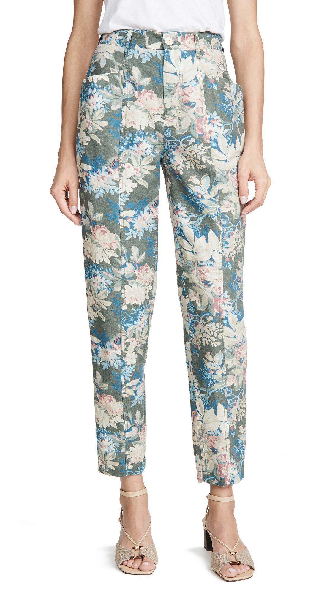 Buy La Vie Rebecca Taylor online - photo of La Vie Rebecca Taylor Fleur Foret Pants