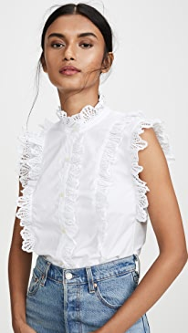 5bd9f45926856c Chic White Tops And Blouses | SHOPBOP