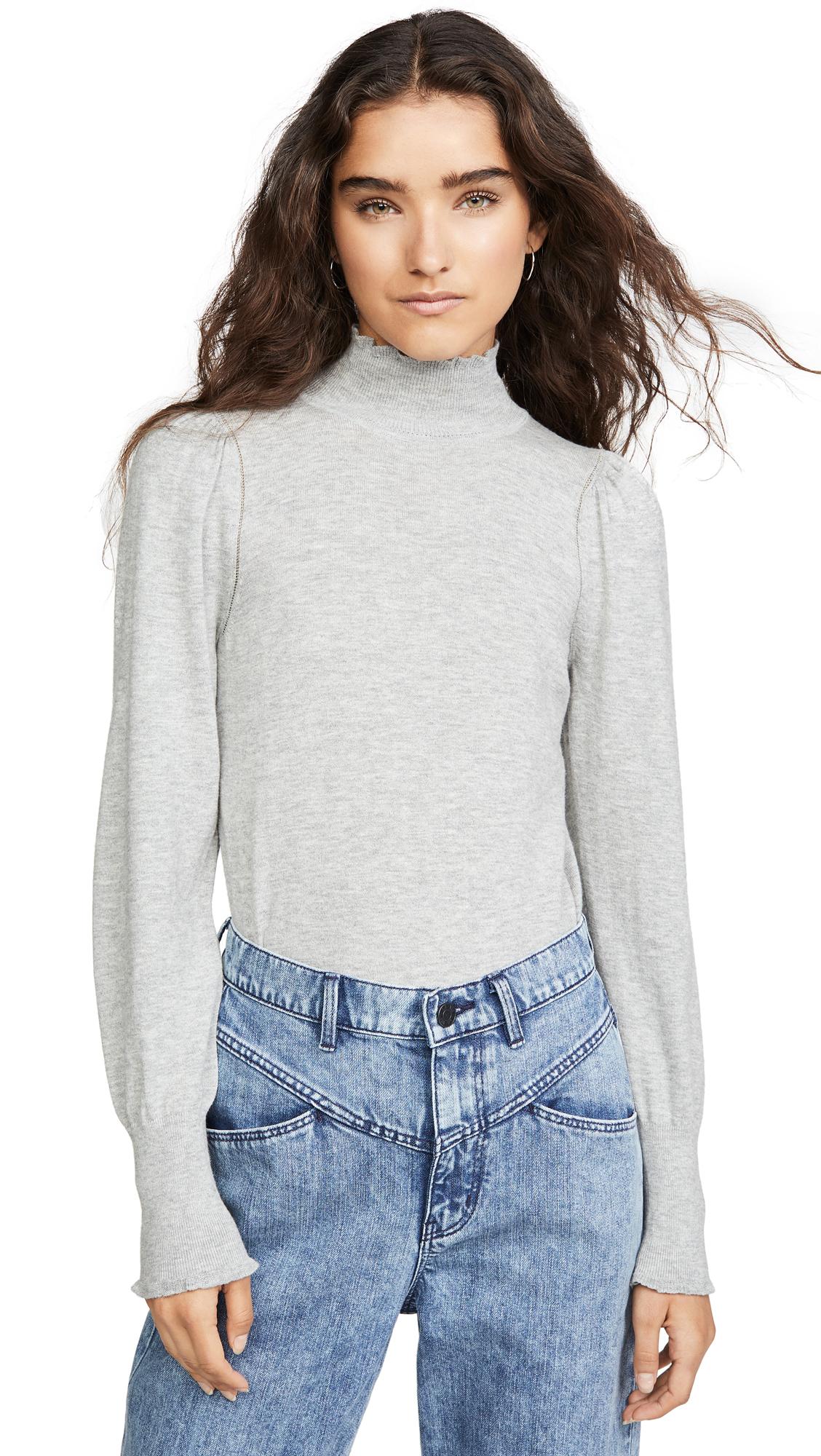 Buy La Vie Rebecca Taylor online - photo of La Vie Rebecca Taylor Cozy Cotton Turtleneck Pullover