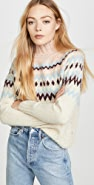La Vie Rebecca Taylor Fair Isle Turtleneck Pullover